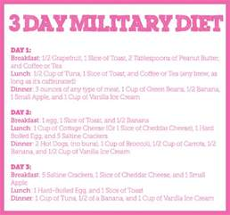 how does military diet deal with chemical breakdown picture 2