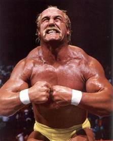 hulk hogan the muscle man picture 1