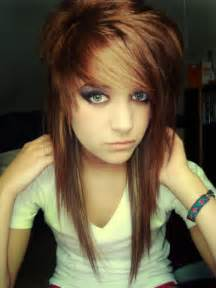 emo girl long hair picture 2