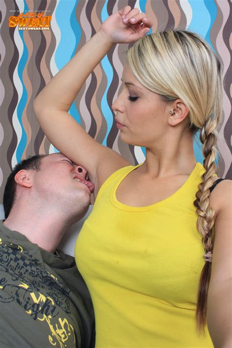 female licking stubble armpits picture 6