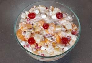 marshmallow ambrosia recipe picture 1