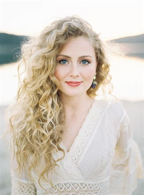 curly hair blonde picture 6