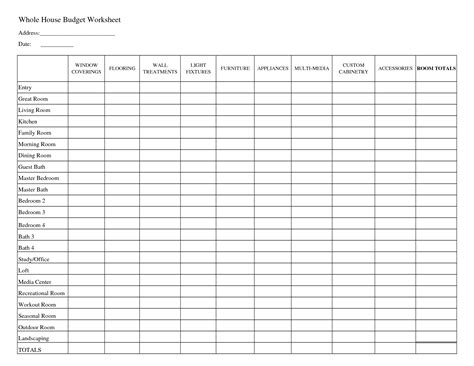home business expense journal worksheet picture 6