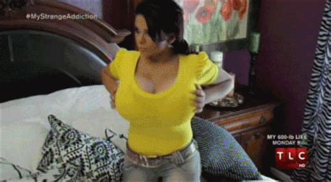 funny breast expansion gifs picture 7