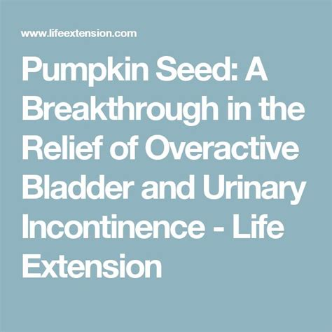 pumpkin seeds for overactive bladder picture 5