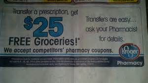 kroger $25 free groceries transfer prescription 2014 picture 11