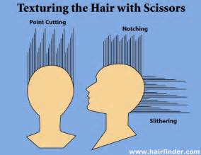 thinning out thick hair with scissors picture 5