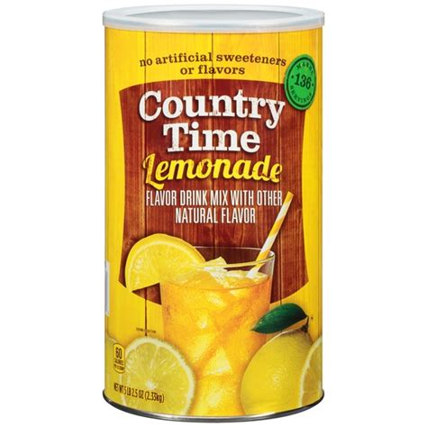 country time lemonade citric acid content fda picture 10