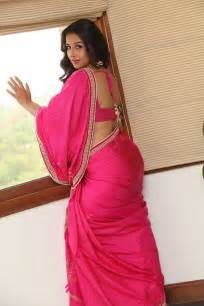 saree hot back view picture 6