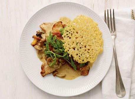 recipe mushroom tuile picture 5