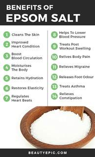 what is epsom salt used for in a picture 4