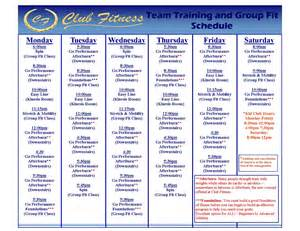 weight loss workout schedule picture 1