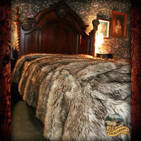bear skin fur blanket picture 1