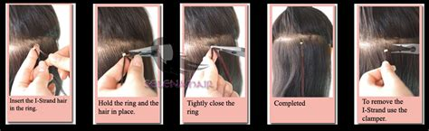 keratin applied hair extensions picture 13