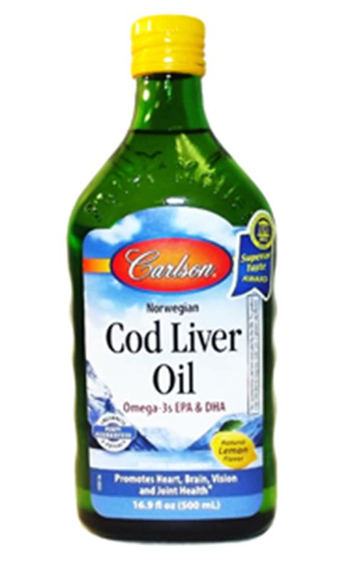 carlson cod liver oil - lemon flavored picture 2