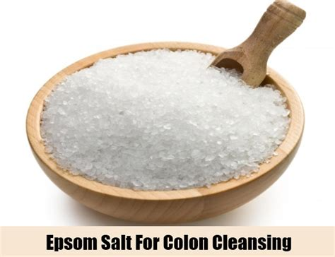 Epsom salts colon cleanse picture 2