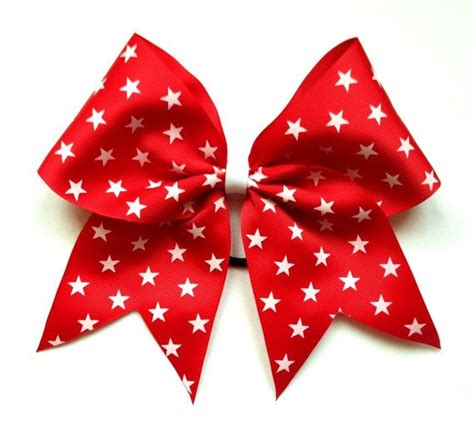 cheerleading hair ribbon picture 2
