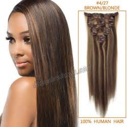 buy human hair extensions clip in picture 13