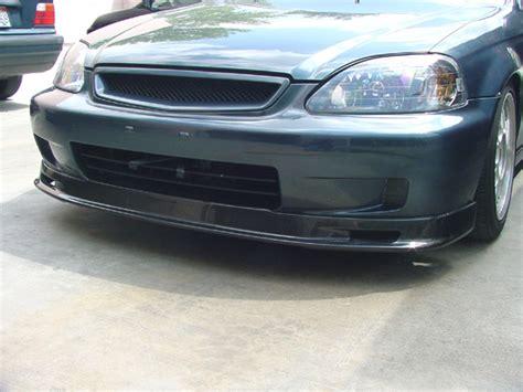 civic carbon fiber lip picture 11