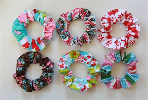 sewing patterns for hair scrunchies picture 5