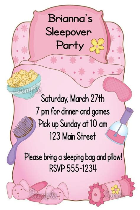 clip art with sleep over partys picture 7