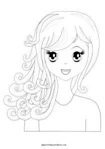 coloring pages on hair picture 9
