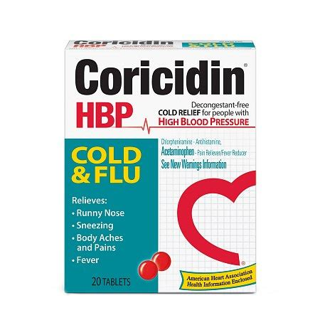Coricidin high blood pressure picture 5