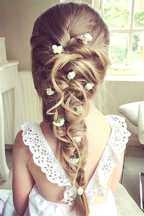 flower girl hair doos picture 2