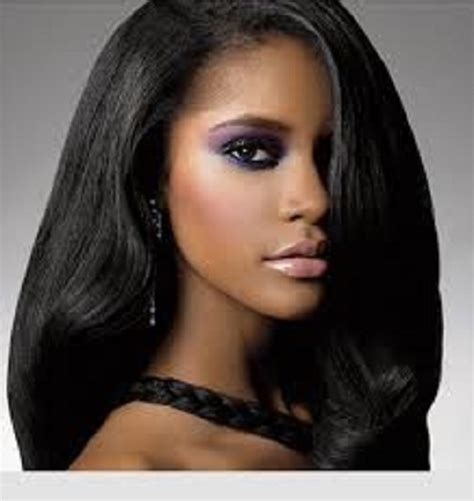 african american straight hair picture 9