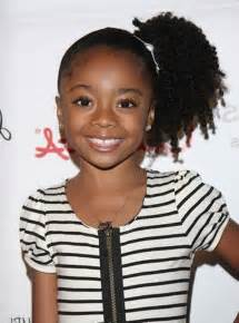 Black hair style for kids picture 6
