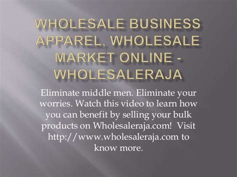 wholesale business online picture 1