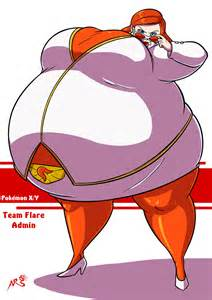 pokemon jessie breast inflation games picture 3