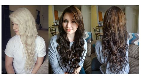 coloring hair from blonde to brown picture 3