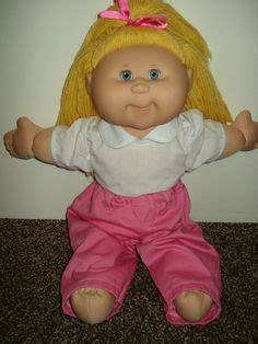 Cabbage patch dolls hair color changing picture 5