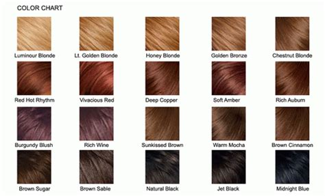 bremod hair color chart picture 10