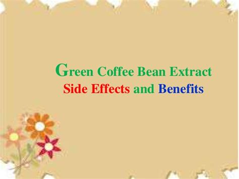 green coffee bean risks picture 3