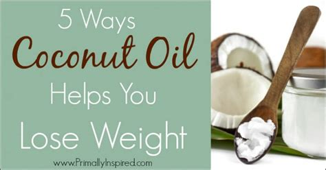coconut oil to for weight loss picture 5