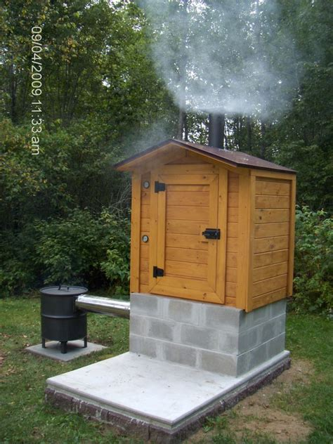 smoke house construction picture 1