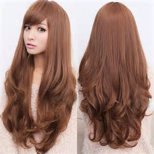 curly long hair wigs picture 11