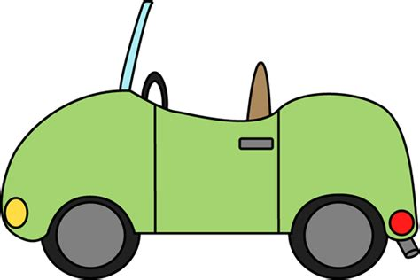 convertible car clip art picture 1