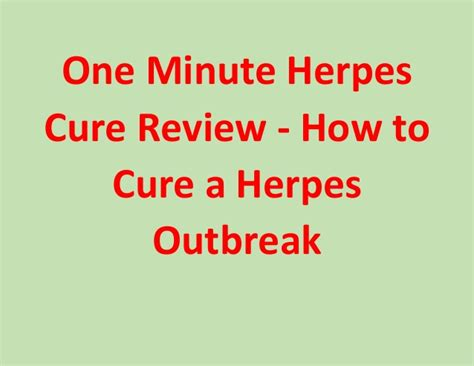 herpes how to stop an outbreak picture 4