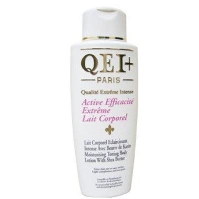 is the body lotion qei+paris very effective and what are the picture 2