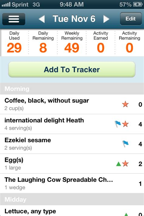 my weight tracker iphone picture 5