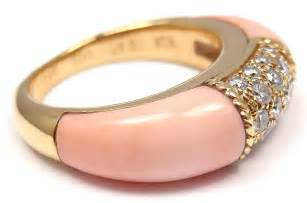 angel skin coral gold ring picture 10