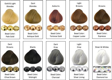 hair colors and skin tones picture 7