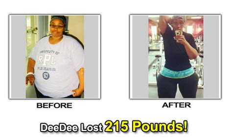 deedee's weight loss picture 1