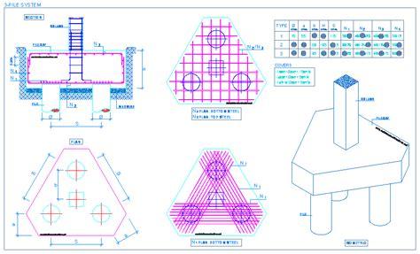 concave triangle concrete piles picture 12