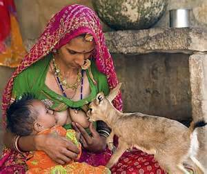 breast feeding demo by an indian lady doctor picture 14
