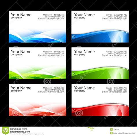 free online business card templates and photos picture 7