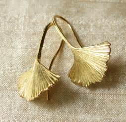 ginkgo leaf jewelry picture 2